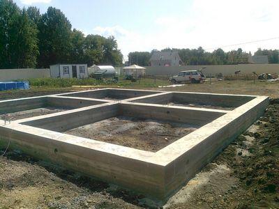 ленточные бетон