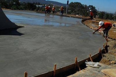 естественное твердение бетона